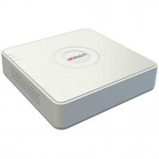 4-канальный (+ 1 IP) видеорегистратор с поддержкой TVI и AHD: HiWatch DS-H104G