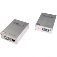 Комплект TA-V/1+RA-V/1: приемник и передатчик для передачи VGA и аудиосигнала по UTP CAT5 до 50м