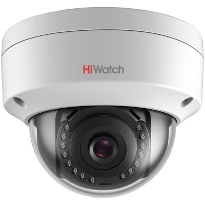 Вандалозащищенная IP-камера HiWatch DS-I102 с ИК-подсветкой