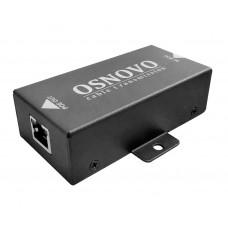 PoE удлинитель OSNOVO E-PoE/1 10M/100M Fast Ethernet до 500 м с питанием до 100 м