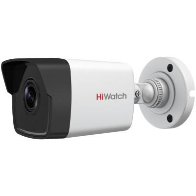 Сетевая 720p камера HiWatch DS-I100 (B) (2.8 мм) с ИК-подсветкой EXIR