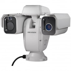 Комбинированная IP тепловизионная поворотная платформа Hikvision DS-2TD6166-75B2L с модулем видимого диапазона