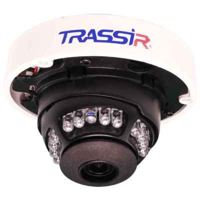 Компактная 4 Мп IP-камера TRASSIR TR-D3141IR1 (2.8 мм) с ИК-подсветкой