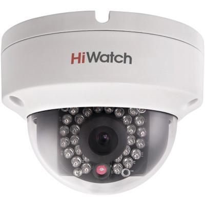 Бюджетная вандалостойкая 960p купольная IP-камера HiWatch DS-I122
