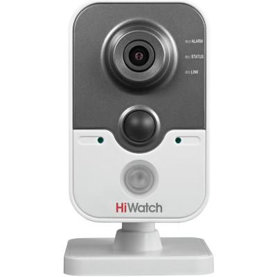 Бюджетная сетевая Cube-камера HiWatch DS-I114  для дома и офиса