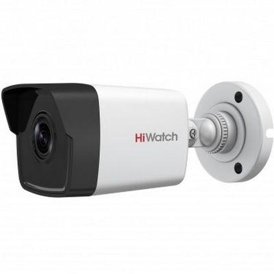 Цилиндрическая 4 Мп IP-камера HiWatch DS-I450 с ИК-подсветкой до 30 м