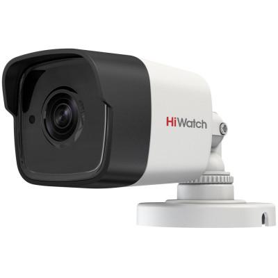 Уличная аналоговая HD-TVI камера-цилиндр 5Мп HiWatch DS-T500 (B) с ИК-подсветкой EXIR