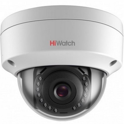 Купольная вандалостойкая 4 Мп IP камера HiWatch DS-I452 c ИК-подсветкой
