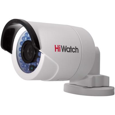 Бюджетная миниатюрная IP камера-цилиндр 1.3Мп HiWatch DS-I120 с ИК-подсветкой