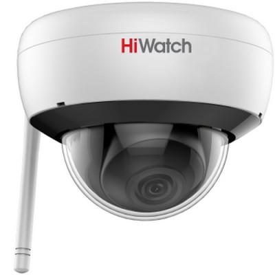 Купольная IP-камера видеонаблюдения Hiwatch DS-I252W с Wi-Fi до 150 м и ИК-подсветкой
