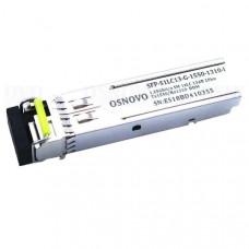 Оптический SFP-модуль Osnovo SFP-S1LC13-G-1550-1310-I