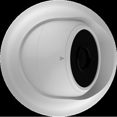 EVC-DP-SE20-P/A(BV) купольная IP видеокамера, 2.0Мп, f=3.6мм, POE, аудио вх.