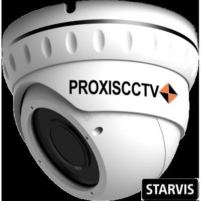 PX-IP-DNT-SP20-P/C купольная уличная IP видеокамера, 2.0Мп, f=2.8-12мм, POE, SD