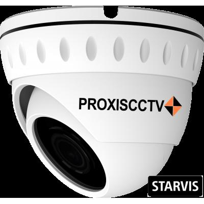 PX-IP-DN-SP20-P/A/C (BV) купольная уличная IP видеокамера, 2.0Мп, f=2.8мм, POE, аудио вх., SD