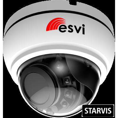 EVC-NK20-SE20-P/A/C(BV) купольная IP видеокамера, 2.0Мп, f=2.8-12мм, POE, SD, аудио вх.