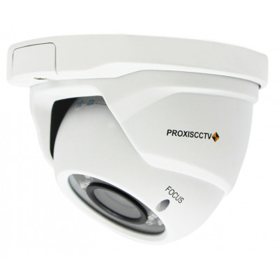 PX-AHD-DGT-H20FS купольная уличная 4 в 1 видеокамера, 1080p, f=2.8-12мм