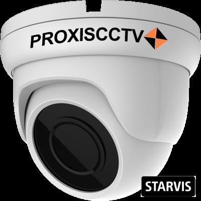 PX-IP-DB-SP20-P/M/C (BV) купольная уличная IP видеокамера, 2.0Мп, f=2.8мм, POE, микрофон, SD