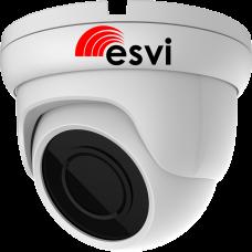 EVC-DB-F22-P/A (BV) купольная уличная IP видеокамера, 2.0Мп, f=3.6мм, POE, аудио вход