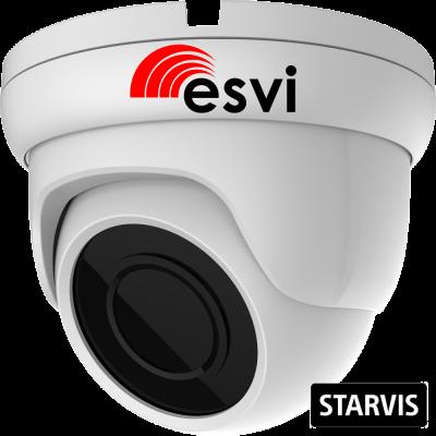EVC-DB-SL20-P/A/C (BV) купольная уличная IP видеокамера, 2.0Мп, f=2.8мм, POE, аудио вх., SD