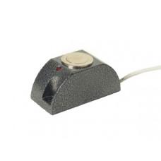 Кнопка вызывная накладная с индикацией (металлическая)