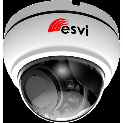 EVC-NK20-F22-P/A (BV) купольная IP видеокамера, 2.0Мп, f=2.8-12мм, POE, аудио вх.