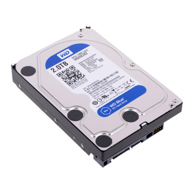 Жесткий диск WD Blue WD20EZRZ, 2Тб, HDD, SATA III, 3.5