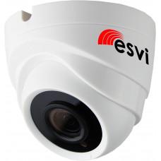 EVC-DL-F21-A (BV) купольная IP видеокамера, 2.0Мп*20к/с, f=3.6мм, аудио вход