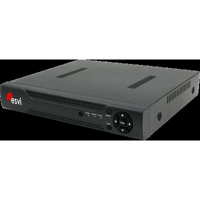 EVD-6104NX-2 гибридный AHD видеорегистратор, 4 канала 5M-N*12к/с, 1HDD